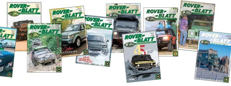 Roverblatt Collage - klein mobile