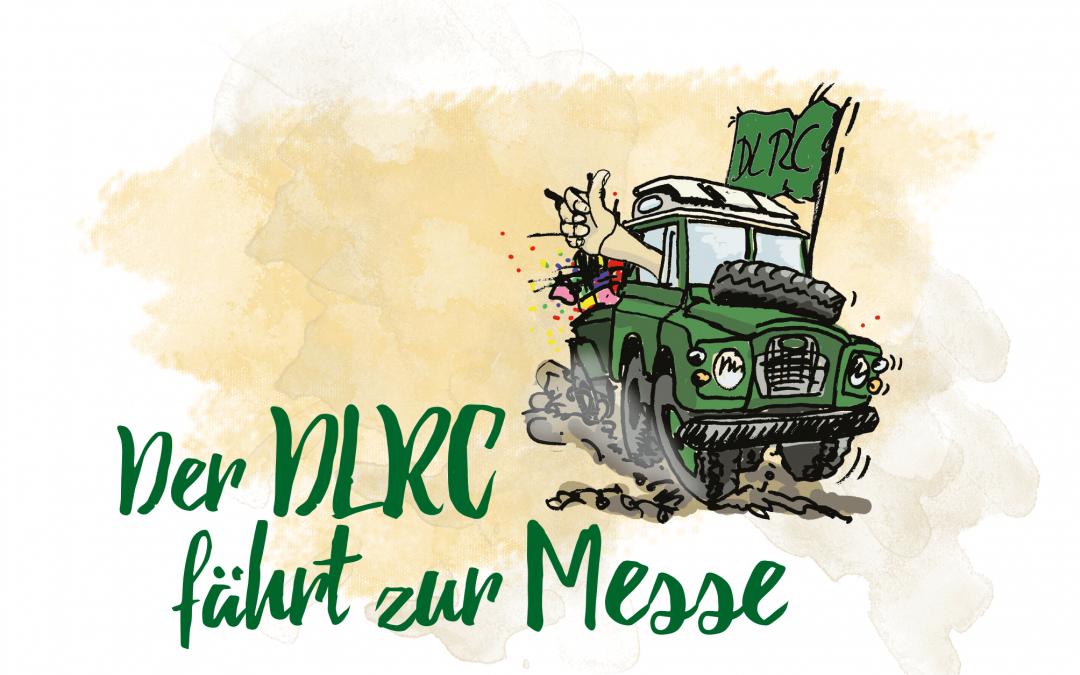 Der Deutsche Land Rover Club zeigt auf Messen wieder Gesicht – endlich!